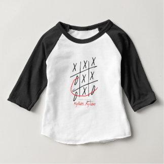 Camiseta Para Bebê fernandes tony, é meu jogo (3)
