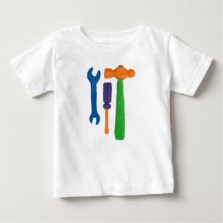 Camiseta Para Bebê Ferramentas do Plasticine