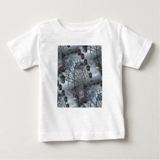 Camiseta Para Bebê Ferris roda dentro as nuvens