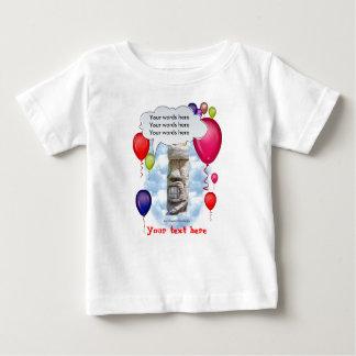 Camiseta Para Bebê Festa de aniversário Tiki