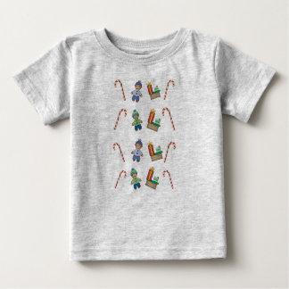 Camiseta Para Bebê Festivo