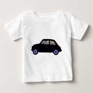 Camiseta Para Bebê Fiat encheu-se com os crânios do açúcar
