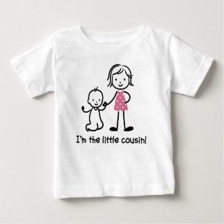 Camiseta Para Bebê Figura pequena t-shirt da vara do primo