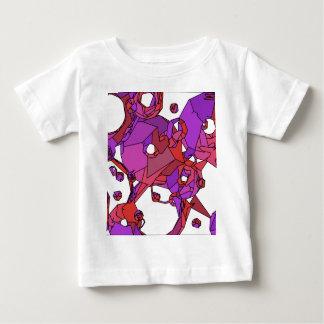 Camiseta Para Bebê Filhóses cor-de-rosa