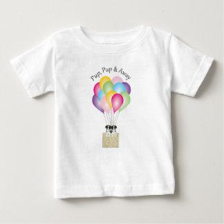 Camiseta Para Bebê Filhote de cachorro do filhote de cachorro &