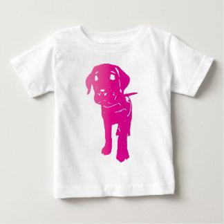 Camiseta Para Bebê Filhote de cachorro do rosa quente!