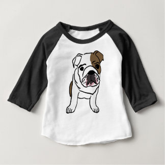 Camiseta Para Bebê Filhote de cachorro inglês personalizado do