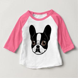 Camiseta Para Bebê Filhote de cachorro Pied encapuçado dobro do