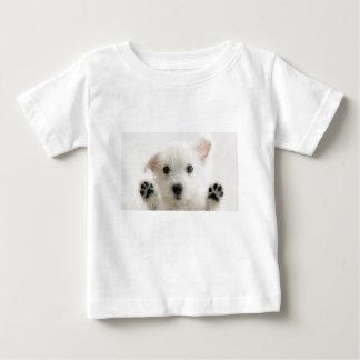 Camiseta Para Bebê Filhote de cachorro só