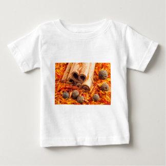 Camiseta Para Bebê Fim-acima das especiarias e das ervas da cozinha