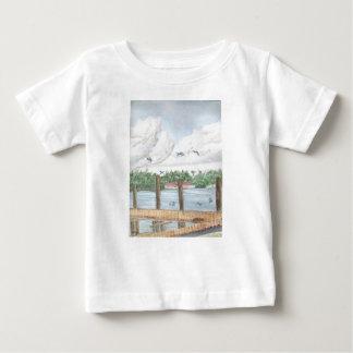 Camiseta Para Bebê Fim da tarde