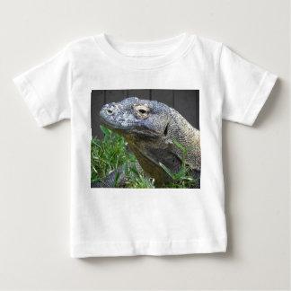 Camiseta Para Bebê Fim do dragão de Komodo acima