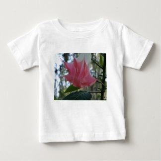 Camiseta Para Bebê fim do rosa da trombeta dos anjos 205a