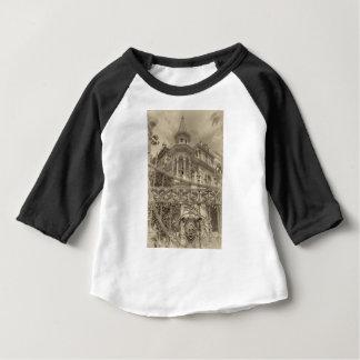 Camiseta Para Bebê Final da casa de campo de Chamas