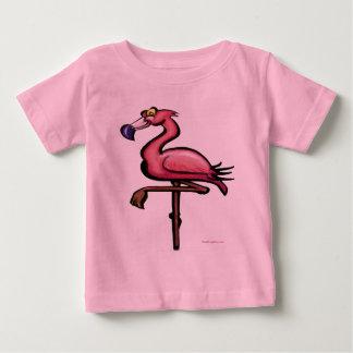 Camiseta Para Bebê Flamingo