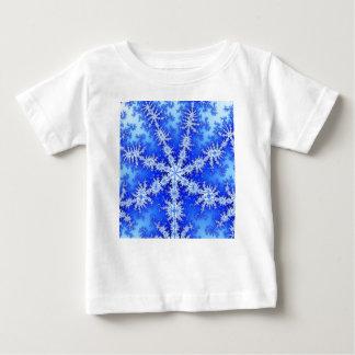 Camiseta Para Bebê Floco da neve