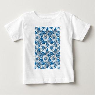 Camiseta Para Bebê Floco de neve 4 do laço