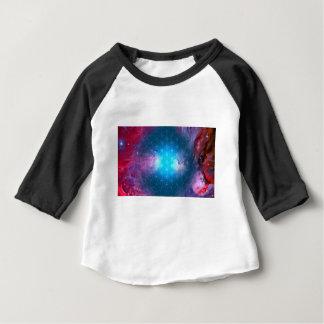 Camiseta Para Bebê Flor cósmica da vida