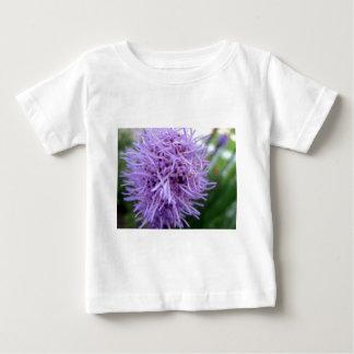 Camiseta Para Bebê Flor da violeta da aranha do tentáculo