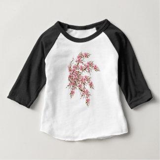 Camiseta Para Bebê Flor de cerejeira