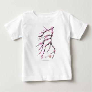 Camiseta Para Bebê Flor de cerejeira vermelha 32, Tony Fernandes