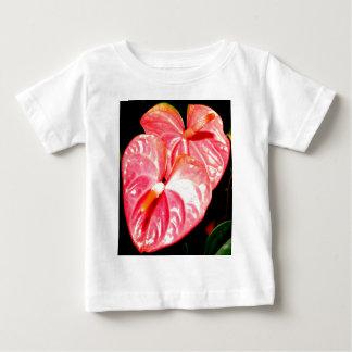 Camiseta Para Bebê Flor de Havaí