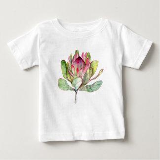 Camiseta Para Bebê Flor do Protea