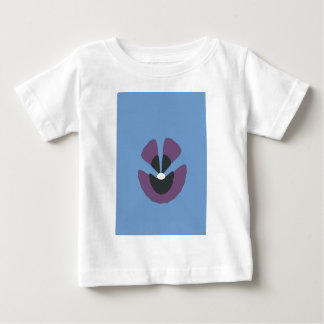 Camiseta Para Bebê flor extravagante