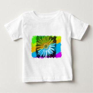 Camiseta Para Bebê Flor quebrada