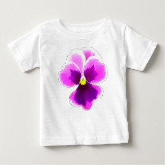 Camiseta Para Bebê Flor roxa 201711 do amor perfeito