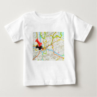 Camiseta Para Bebê Florença, Firenze, Italia