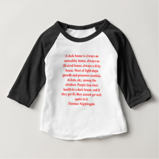 Camiseta Para Bebê Florence Nightingale