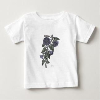 Camiseta Para Bebê Flores 2 do laço