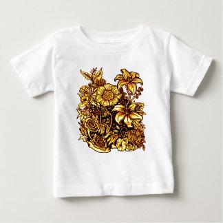 Camiseta Para Bebê Flores 3