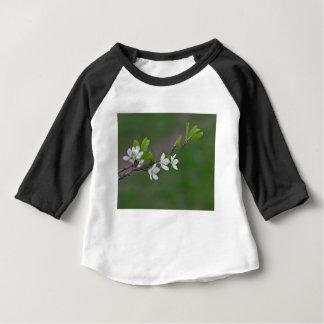 Camiseta Para Bebê Flores da árvore de cereja