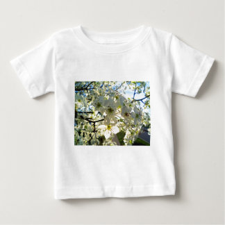 Camiseta Para Bebê Flores da árvore de cereja de Yoshino