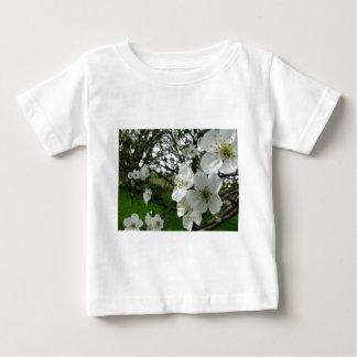Camiseta Para Bebê Flores de Apple