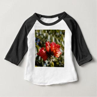 Camiseta Para Bebê Flores de um tuliptree africano