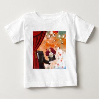 Camiseta Para Bebê Flores mágicas para uma pessoa muito especial