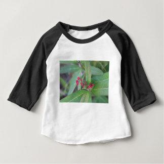 Camiseta Para Bebê Flores pequenas do primavera