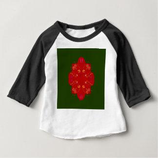 Camiseta Para Bebê Flores populares handdrawn misteriosas