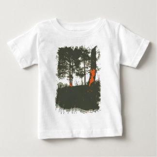 Camiseta Para Bebê Floresta