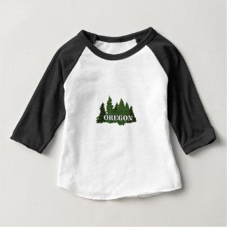 Camiseta Para Bebê Floresta de Oregon