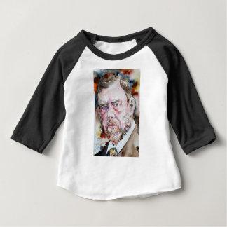Camiseta Para Bebê FOGUISTA de BRAM - retrato da aguarela