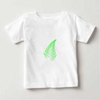 Camiseta Para Bebê Folha da samambaia do Fractal
