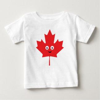 Camiseta Para Bebê Folha de bordo feliz