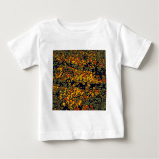 Camiseta Para Bebê Folhas de outono
