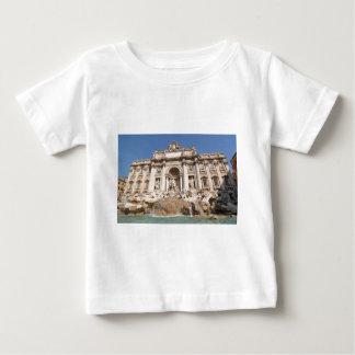 Camiseta Para Bebê Fontana di Trevi em Roma, Italia