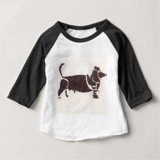 Camiseta Para Bebê Fontes Handmade do partido da arte