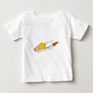 Camiseta Para Bebê Fora deste mundo